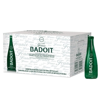 Picture of BADOIT Evian Sparkling Water Glass 330 ml x 20