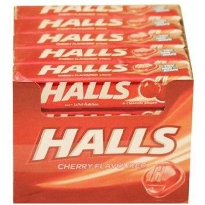 Picture of HALLS CANDY CHERRY FLAVOURED 25G×20