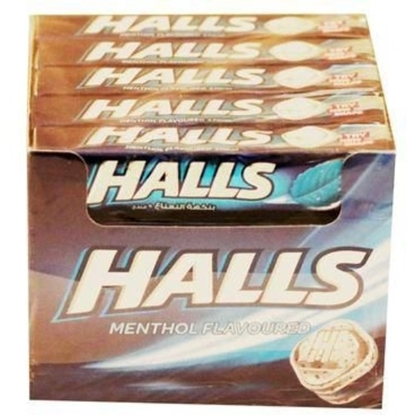 Picture of HALLS CANDY MENTHOL FLAVOURED 25G×20