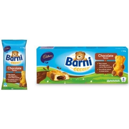 صورة بارني كيك مع شوكولاتة 30جم *  5حبة