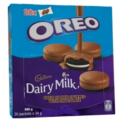 Picture of OREO CHOCOLATE COVERED 34 GM x 20 pcs