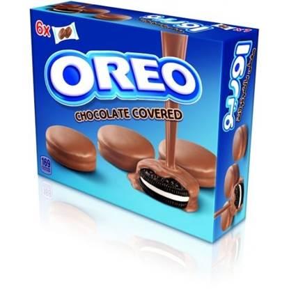 الصورة:  بسكويت اوريو مغطى بالشوكولاته 34 جم * 10