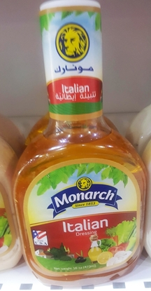 Picture of Monarch Italian dressing 473ml