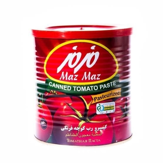 Picture of  MAZ MAZ Tomato paste -800GM* 12 CAN
