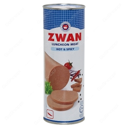 Picture of ZWAN Chicken Luncheon Meat - Hot 850g