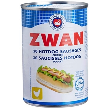 Picture of ZWAN Chicken Hot Dogs 200g