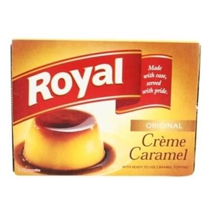 Picture of ROYAL CREME CARAMEL MIX  77 g  (6x12)