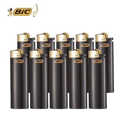 Picture of BIC LIGHTER MINI GOLD BLK (86591-J5)
