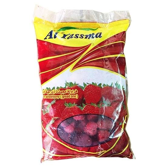 Picture of Al YASSMAH Frozen Strawbrry (400 GM* 20 Pouch
