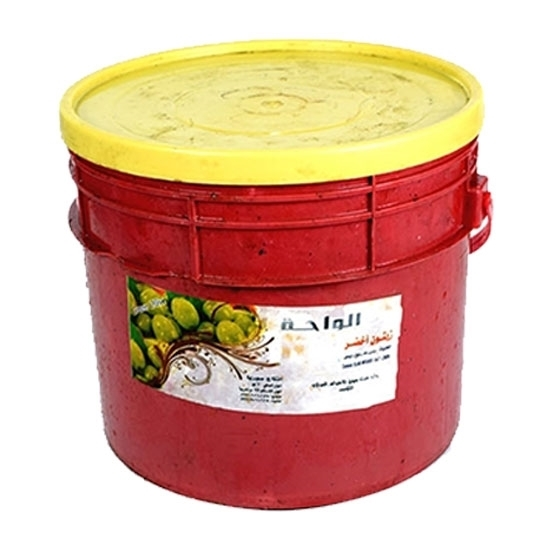 Picture of  (  Al Waha Green Olives Extra  ( 5 KG * 1 Pail