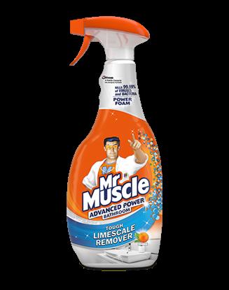 الصورة: مستر مصل دك منظف حمام قوة اكثر مبيض بالرغوة  ليمون750مل