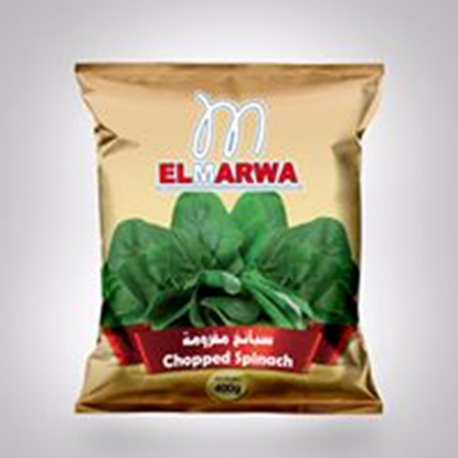 Picture of El-Marwa Frozen Chopped Spinach 400 GM