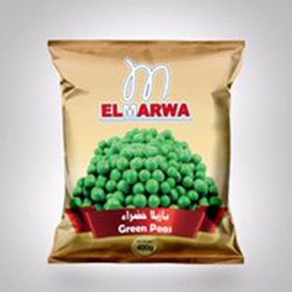 Picture of El-Marwa Frozen Green Peas 400 GM