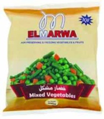 Picture of El-Marwa Frozen Mix Vegetable 400 GM