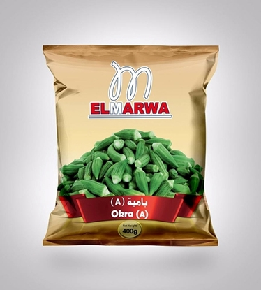Picture of El-Marwa Frozen Okra Zero 400 GM