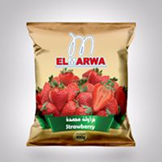 Picture of El-Marwa Frozen Strawberry 400 GM