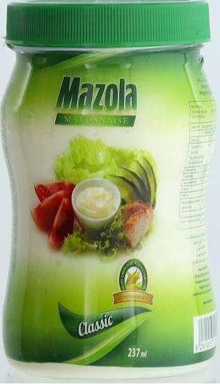 Picture of MAZOLA MAYONNAISE REGULAR 237 ML