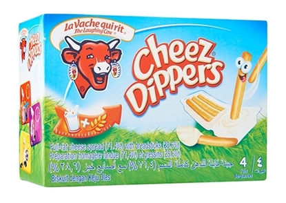 Picture of LAUGHING COW CHEEZ DIPPERS 4D 140G