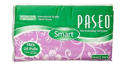 Picture of Paseo Facial Tissues 100s x 6