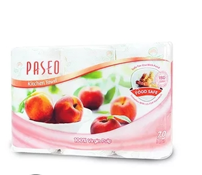 Picture of Paseo Printed Kitchen Rolls 70 Sheets x 2 Rolls