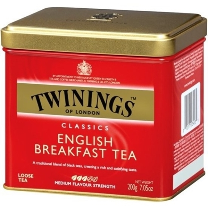 Picture of TWINNING English Breakfast / Tin 200g