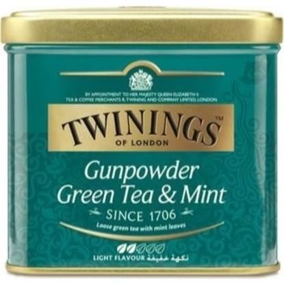 Picture of TWINNING Brand Gunpowder Green Tea & Mint 200g