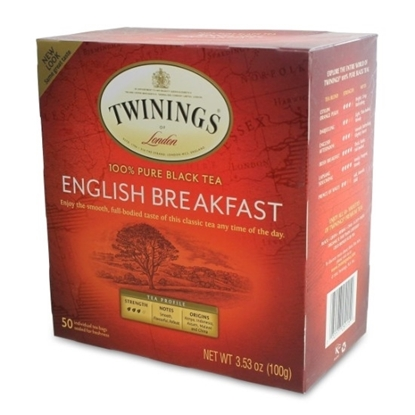 Picture of TWINNING English Breakfast Tea 50 Bags 100g