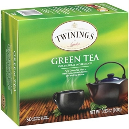 Picture of TWINNING Pure Green Tea 50 Bags 100g