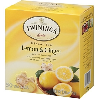 Picture of TWINNING LEMON  GINGER MEAST 6X50X1.5G IFN X 72