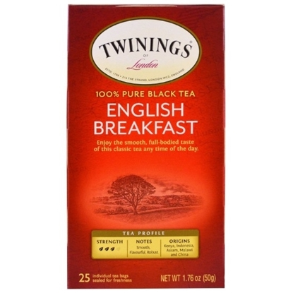 Picture of TWINNING English Breakfast 25 Tea Bags 50g