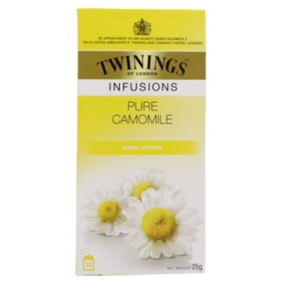 Picture of TWINNING Pure Cammomile Herbal 25 Tea Bags 25g