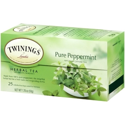 Picture of TWINNING Pure Peppermint Herbal 25 Tea Bags 50g