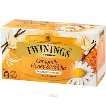 Picture of TWINNING CAMOMILE HONEY&VANILLA MEAST 12X25X1.5G ( 37.5GM )