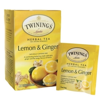 Picture of TWINNING LEMON  GINGER MEAST 6X20X1.5G IFN X 144