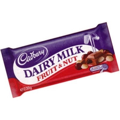Picture of Cadbury Fruit & Nut 230g x 6 x 12