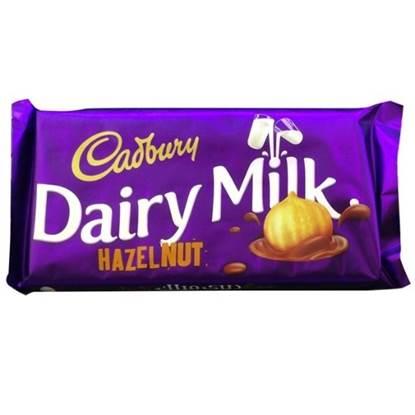 الصورة: كادبوري شوكولاته بالبندق  227 غرام (12*6)