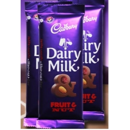 Picture of Cadbury  Fruit & Nut 100g X 6 x 12