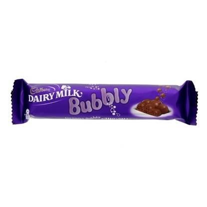 Picture of Cadbury DairyMilk Bubbly 28Gm