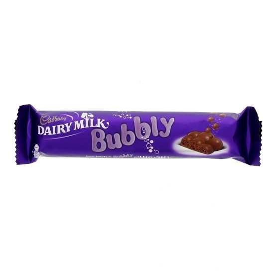 Picture of Cadbury Dairy Milk Bubbly 28Gm
