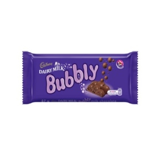 Picture of Cadbury Dairy Milk Bubbly 87Gm