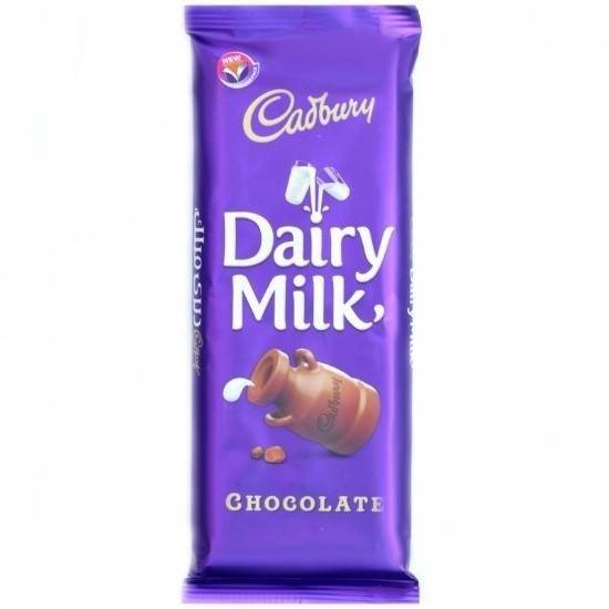 صورة كادبوري شوكولاته بالحليب 90 غرام (12*6)