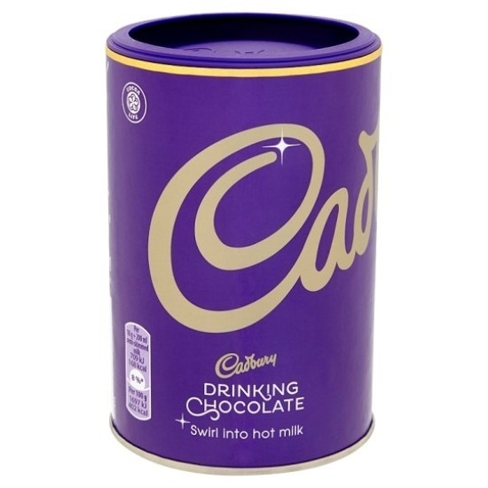 Picture of Cadbury Drinking Chocolate UK 250g x 12