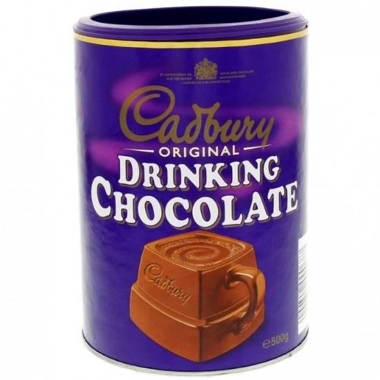 Picture of Cadbury Drinking Chocolate UK 500g x 6
