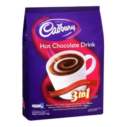 الصورة: كادبوري شراب الشوكولاته الساخنه 3 في 1 30جم