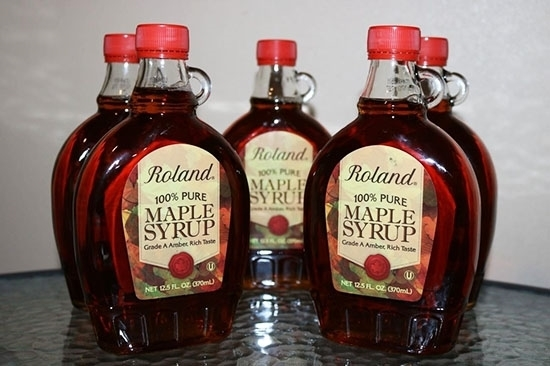 Picture of Roland 100% Grade A Maple Syrup 370 ML x 12