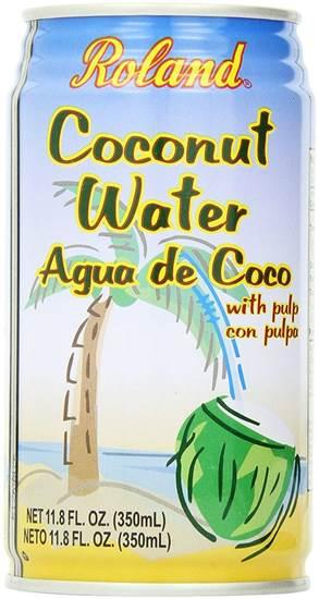 صورة Roland Coconut Water With Pulp 11.8 Foz/1x24