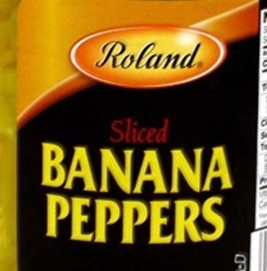 Picture of Roland Sliced Banana Peppers- Gallon*4