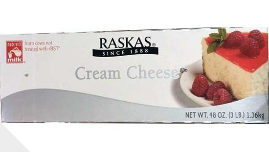 Picture of Raskas Cream Cheese Cake  ( 1.360 KG * 10 Pieces )