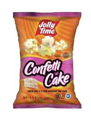 Picture of JOLLY TIME Ready To Eat Popcorn Birthday Cake-85gm*12