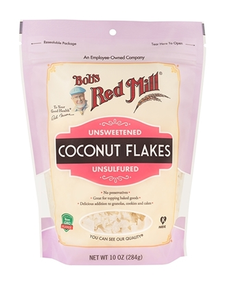 Picture of BRM CoconutT Flakes Unsweettened (10 Oz*4 ) New